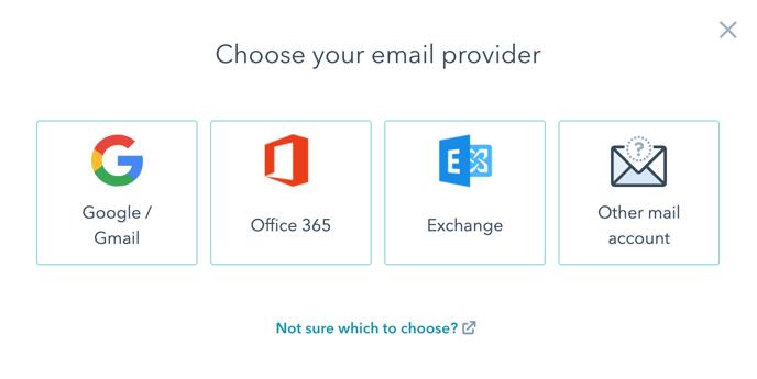 HubSpot email integration