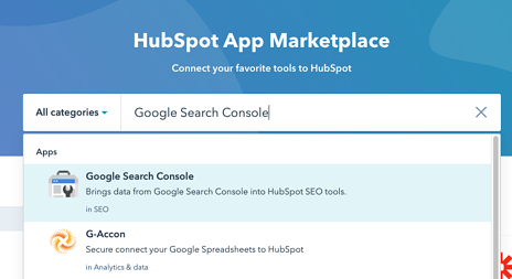 Connect Search Console step 3